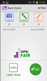 Farm Data user interface