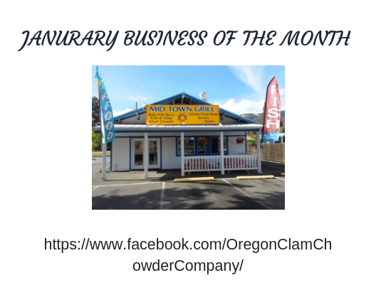Janurary 2019 Business of the month