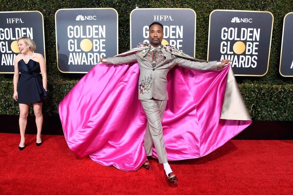 """Haarper's Bazaar's says it best:  """"Billy Porter's Golden Globes Look Just Changed My Life"""" . Same."""