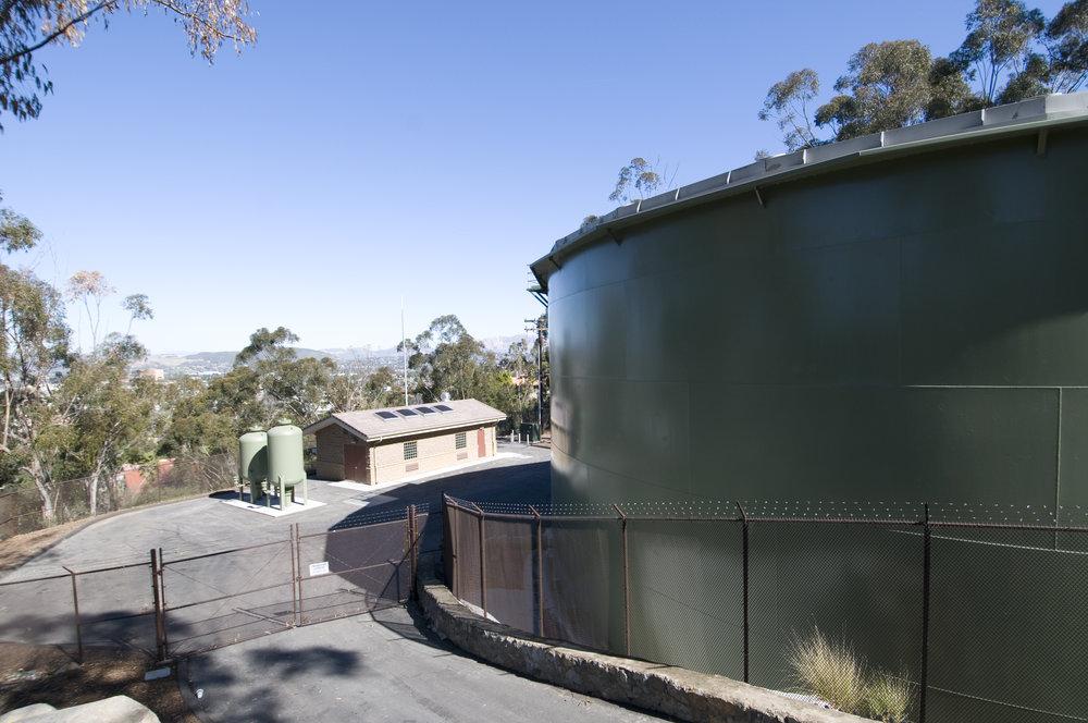El Cajon Tank & Calavo Pump Station    Helix Water District