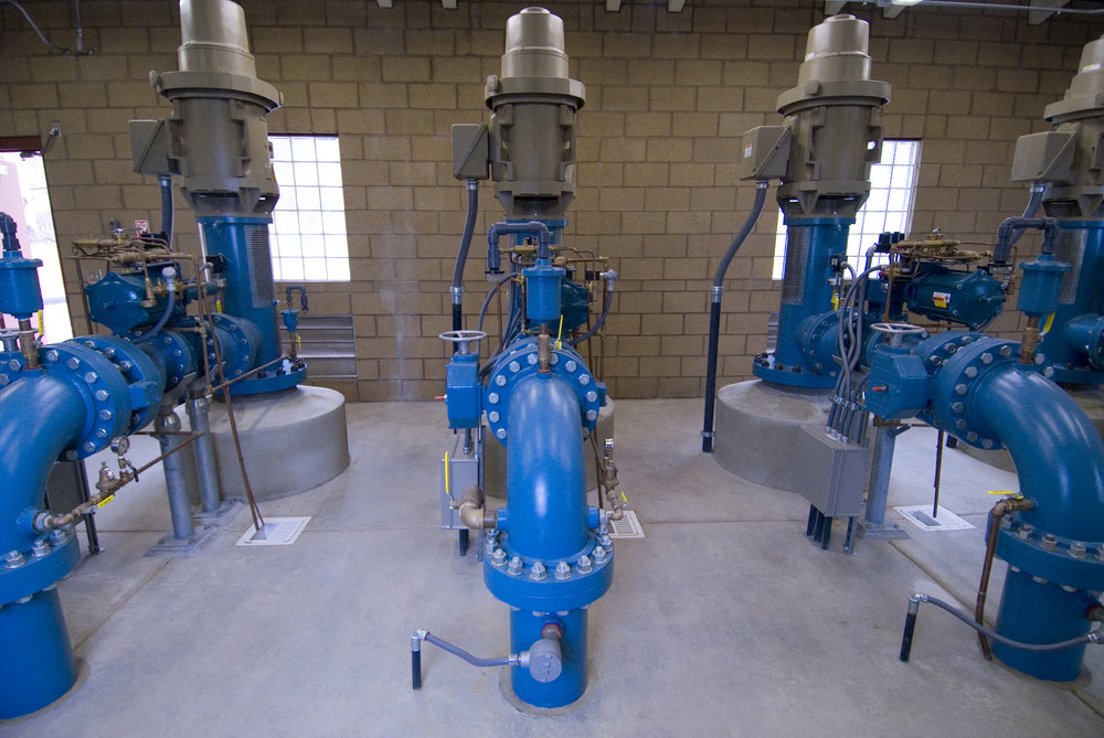 Calavo Pump Station Interior    Helix Water District