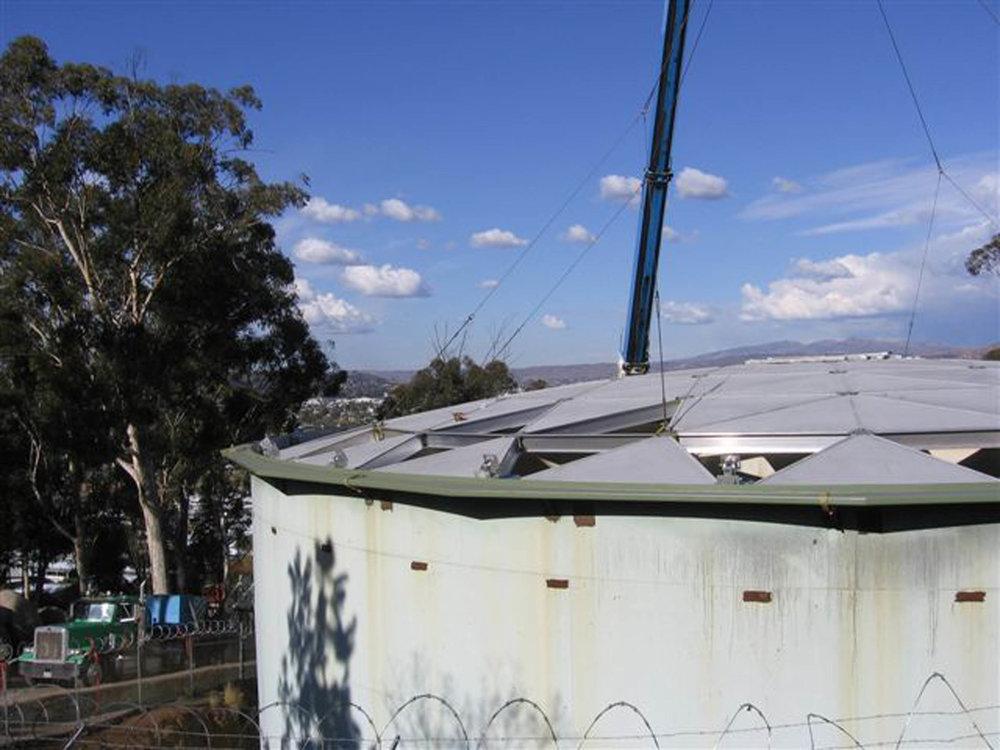 El Cajon Tank Roof    Helix Water District