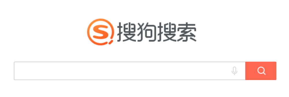 Sogou Search Home Page