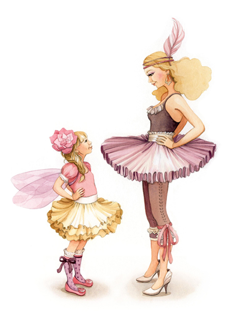 Ballerina Dress Up - Watercolour Illustration by aliciasinfinity WEB.jpg