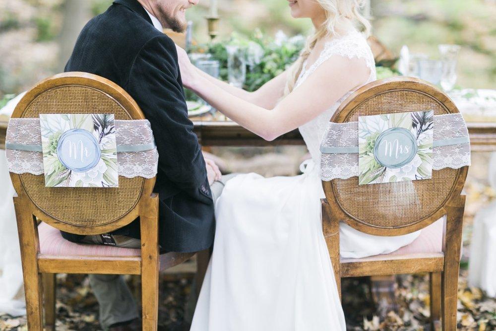Vineyard Bride // Waterfall Editorial Shoot