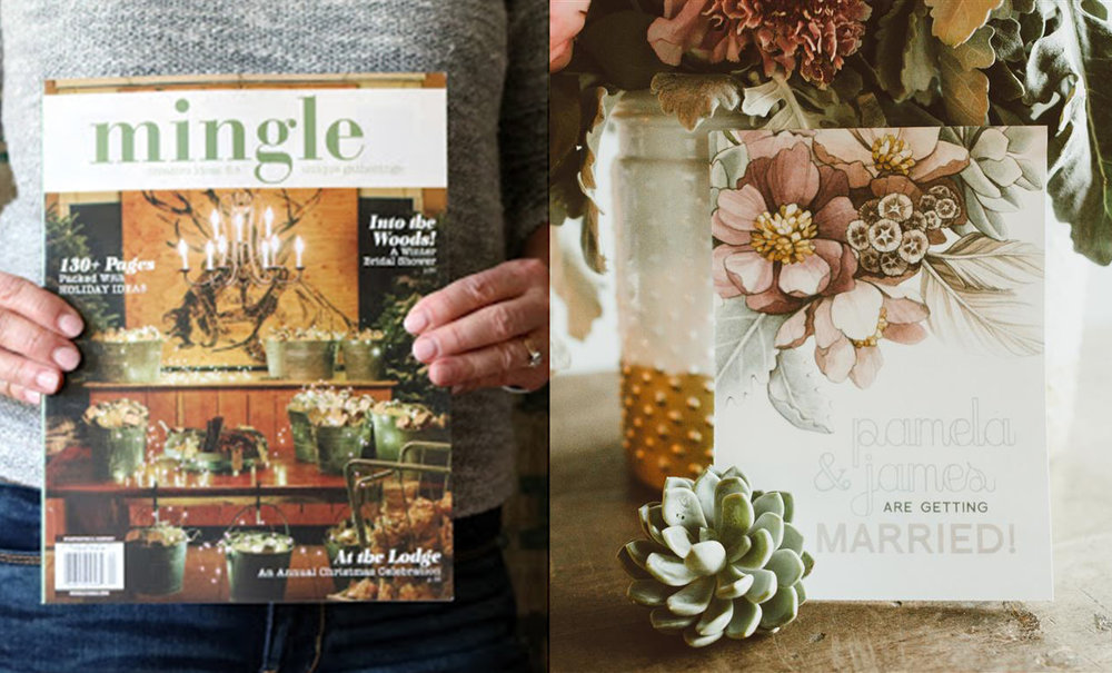 Mingle Magazine // Boho styled wedding