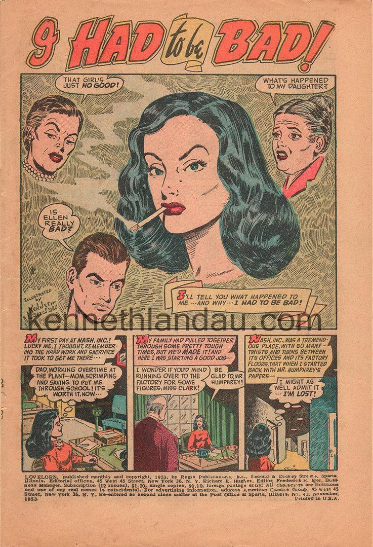 """""""Love Lorn"""" by Kenneth Landau"""