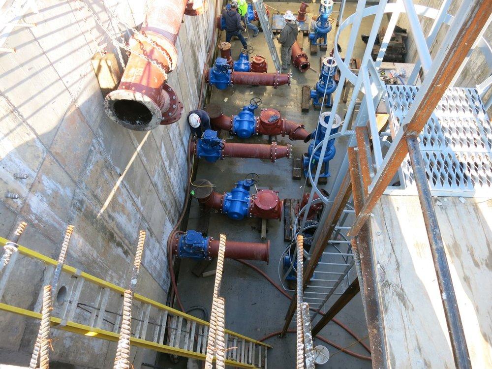 Sanitation Pump Stations -