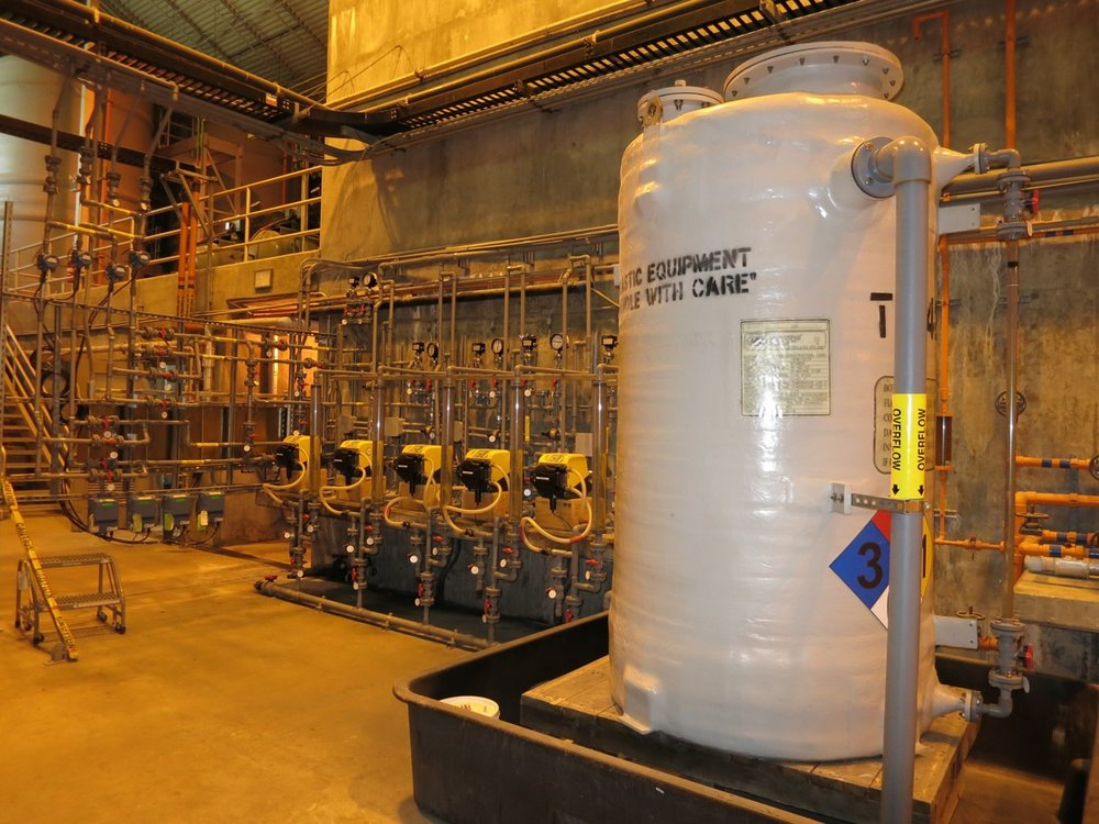 Waste Water Treatment Plants - Facility construction and setup.