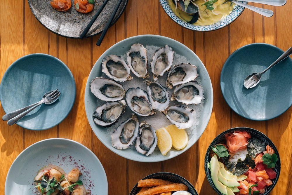 Hallams Waterfront Seafood Restaurant - The Granary Historic Accommodation