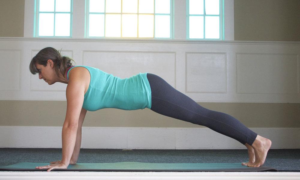 Yoga Engineer | Plank Pose