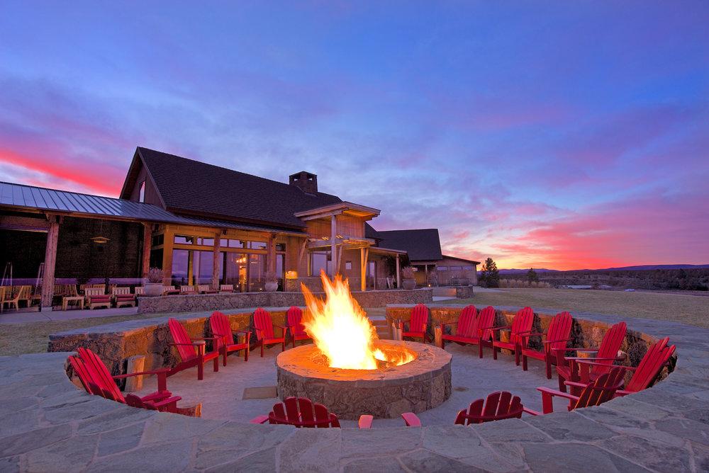 Brasada Ranch Range Firepit
