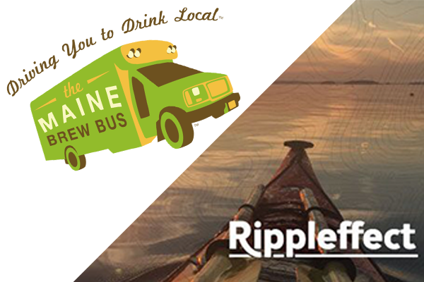 Rippleffect Cow Island Retreat & Maine Brew Bus - May 6, 2019: 9am-5pmOutdoor activities including kayaking and zip lining. Followed by a brewery, distillery, and winery tour in Portland, Maine.