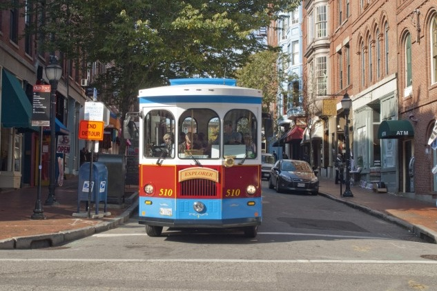 Peek at Portland Trolley Tour - May 5, 2019: 2:30-3:30pmTrolley tour around Portland's peninsula experiencing hidden gems and historic landmarks.