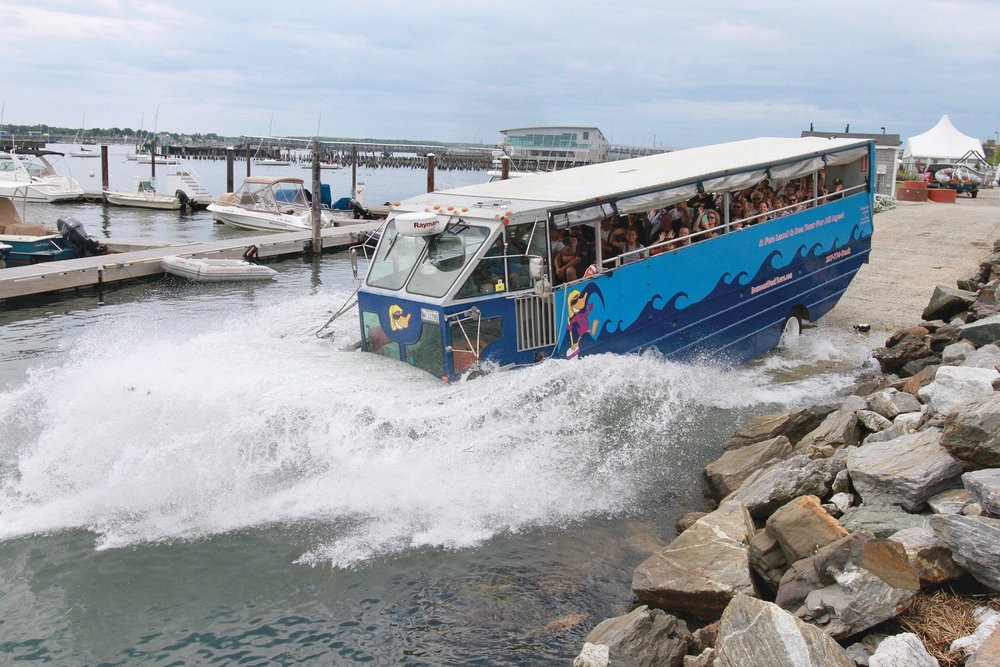 Maine Duck Tour - May 2, 2019: 12:45-1:45pmMay 2, 2019: 2-3pmFun for all ages aboard a modern amphibious vehicle!