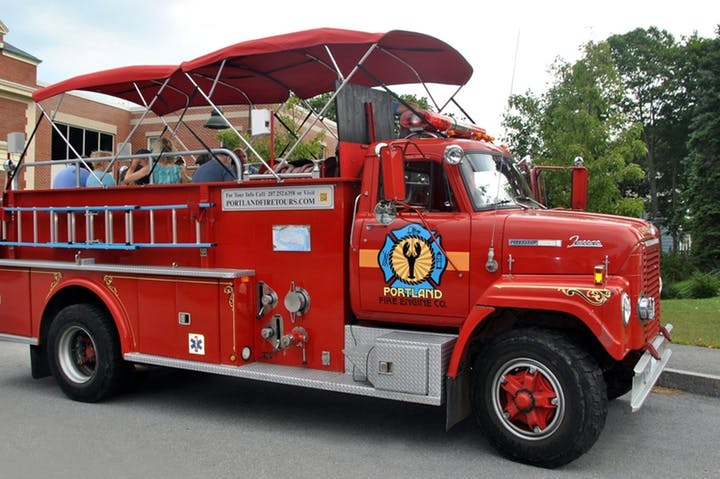Fire Engine Co. Tour - May 2, 2019: 9:30-10:30amTour Portland on a fire truck.