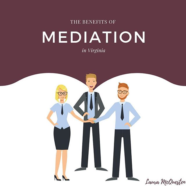 Mediation is a useful tool in Family Law cases. It helps parties understand each side, identify the issues that need resolution, collaborate to resolve the issues, and amicably determine the outcome of the case. Most cases that mediate are resolved in mediation. read more: https://bit.ly/2CC3mmb #mediation #disputeresolution #collaborativedivorce  #virginialawyer #divorce #familylaw #custody #spousalsupport #attorney #lawfirm #hadleylaw #virginiabeach #hamptonroads #law #childsupport