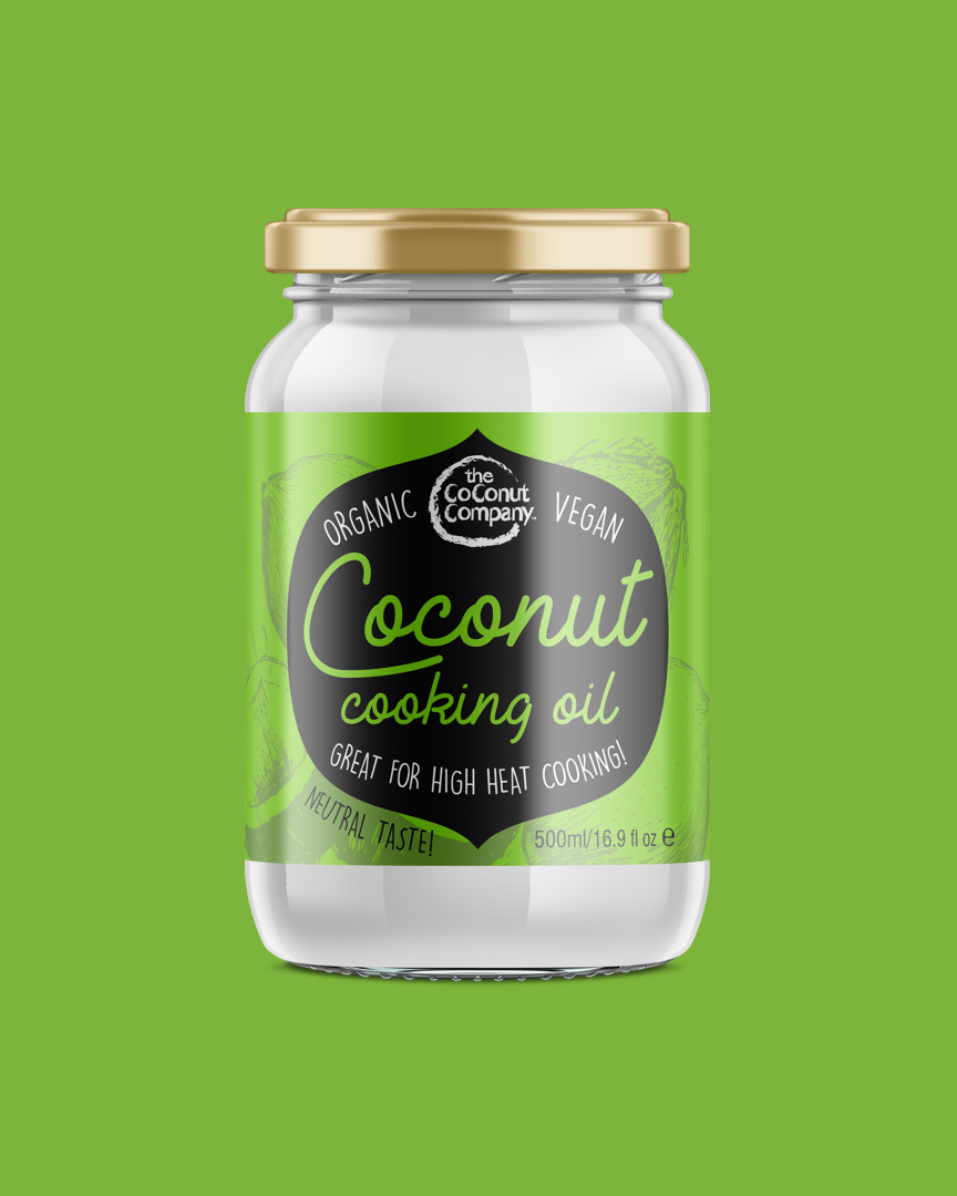 Organic Coconut Cooking Oil