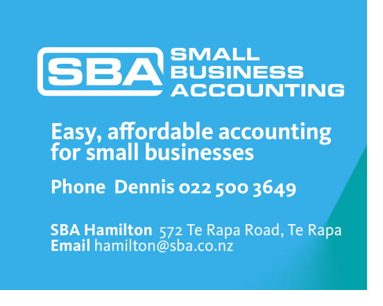 SBA Accounting - Dennis Hodgetts is a small business owner himself and knows all the stresses and demands small business owners go through and is passionate about helping all his clients. Family operated business and local.Hospitality clients he is currently working with areBreakersChim thai rototunaSBA is also the biggest zero partner in new Zealand.All round good people who only want other peoples business to succeed.