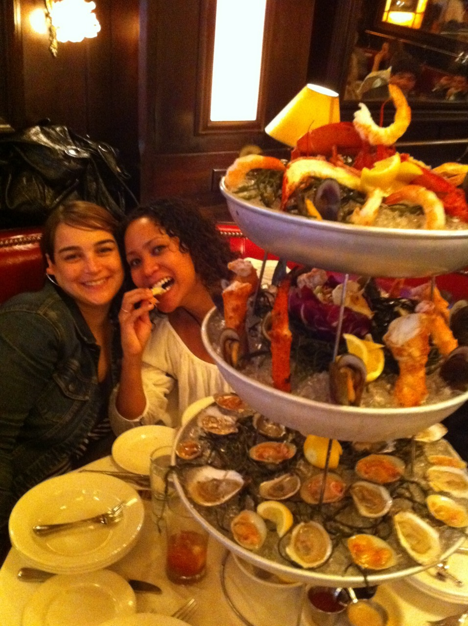 Welcome to the penthouse of the shellfish tower.
