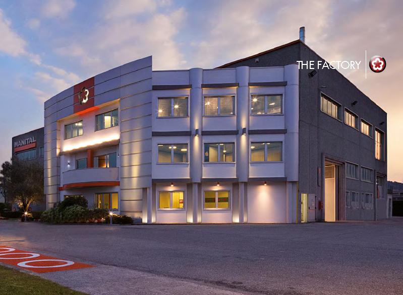 Manital factory in Gavardo, Italy, opened in 2004.