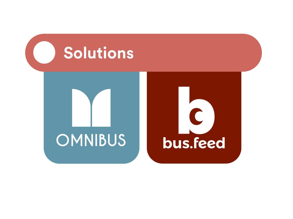Omnibus - Our vision of improved smart bus - a bus for all   bus.feed - Companion all-in-one commuting app optimized for Omnibus