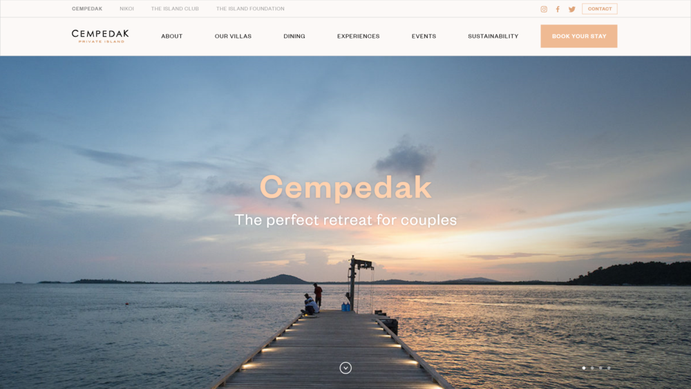 Cempedak Landing Page
