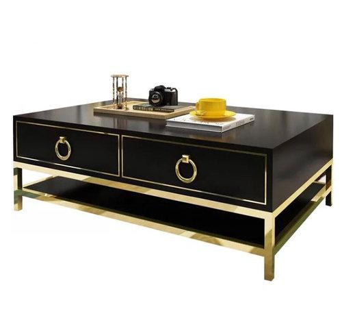 Piano Lacquered Coffee Table Available In White Black La Bella