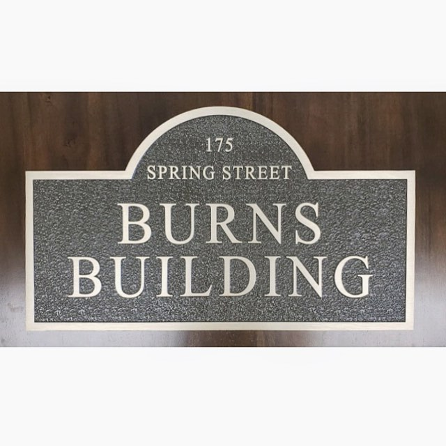 "In honor and loving memory of Charlie Burns, we have dedicated our building ""The Burns Building""! To read more, follow the link in our bio."