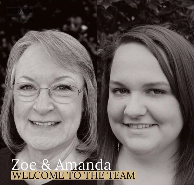 Starting off the new year right by adding two fantastic members to the team! Welcome Zoe Renfro and Amanda Waldron! 👏🏻👏🏻
