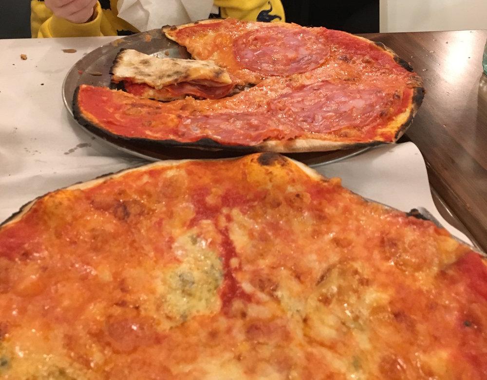 Pizza at Da Baffetto