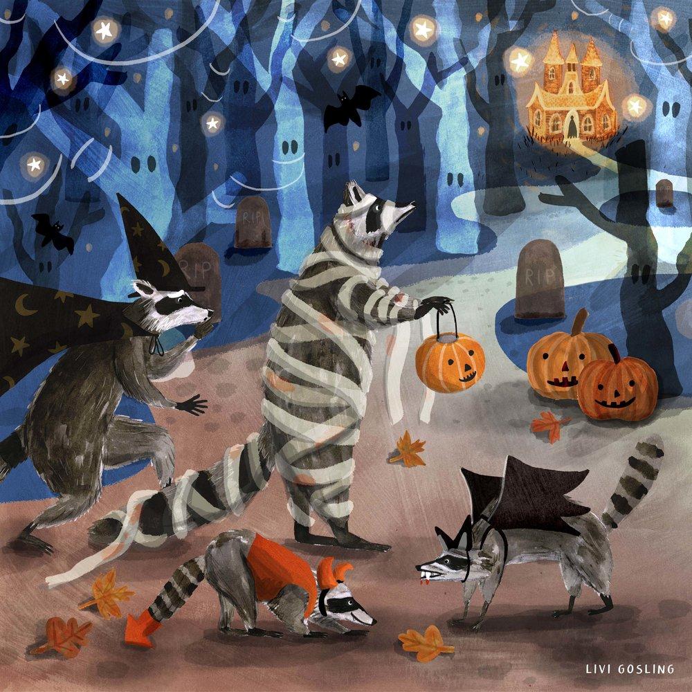 Raccoons halloween2.jpg