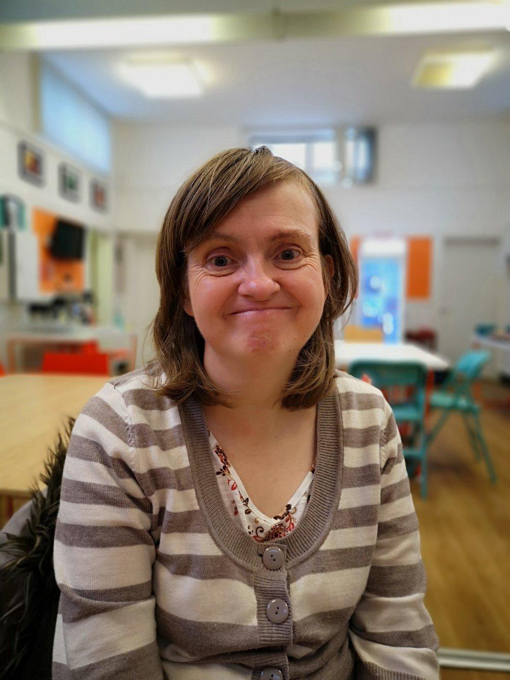 Debbie our volunteer parent rep