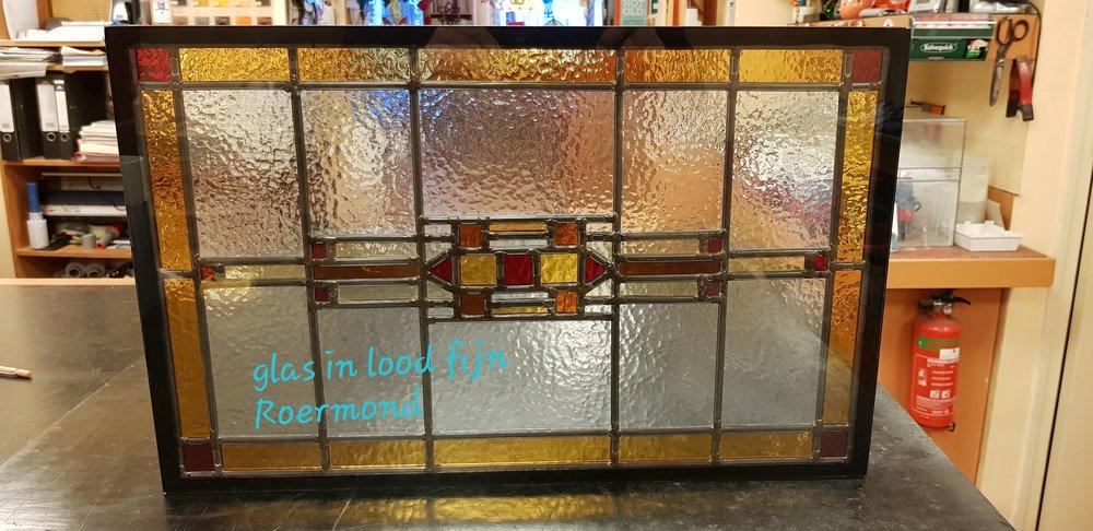 2) Glas in lood fijn Roermond
