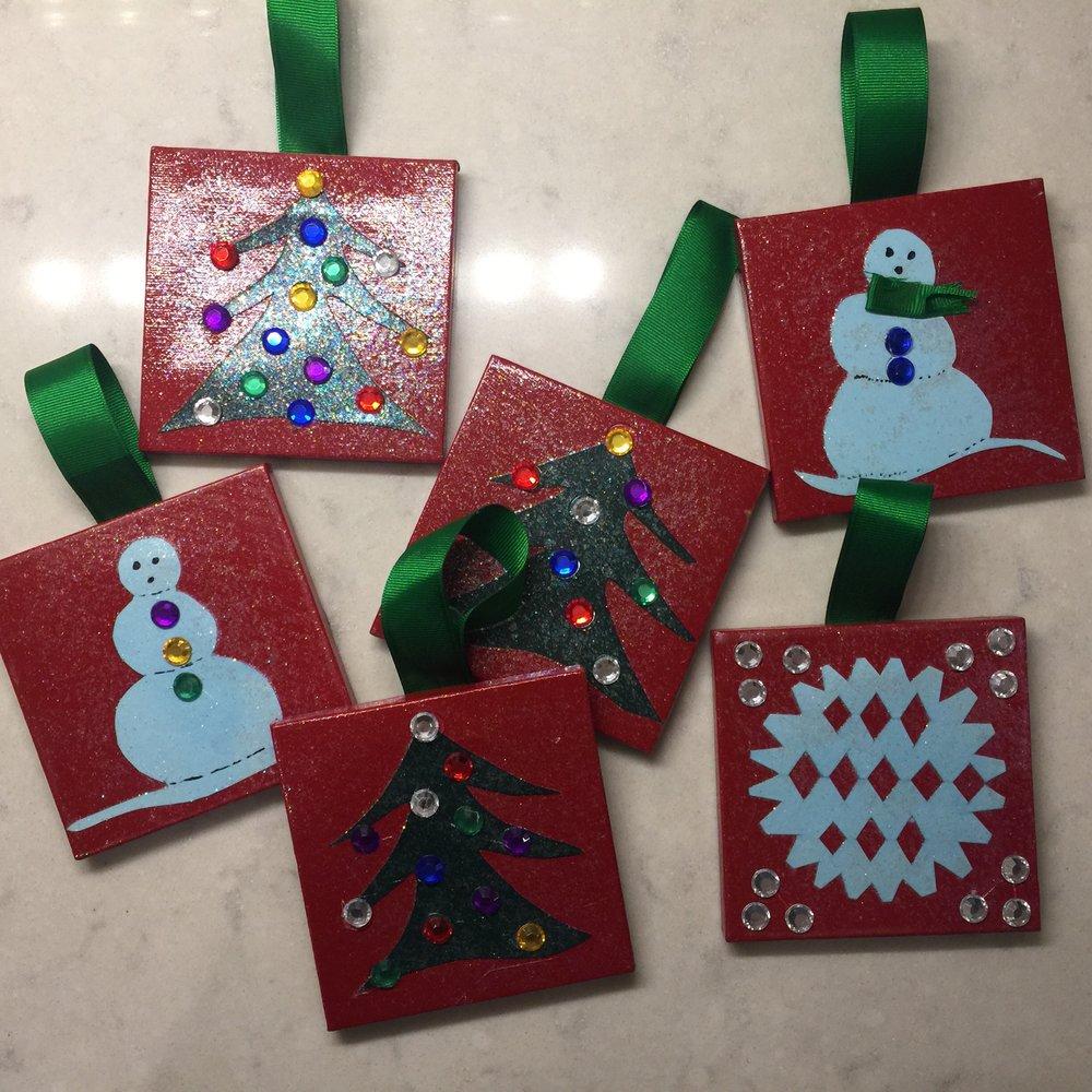 Holiday Ornaments 2018