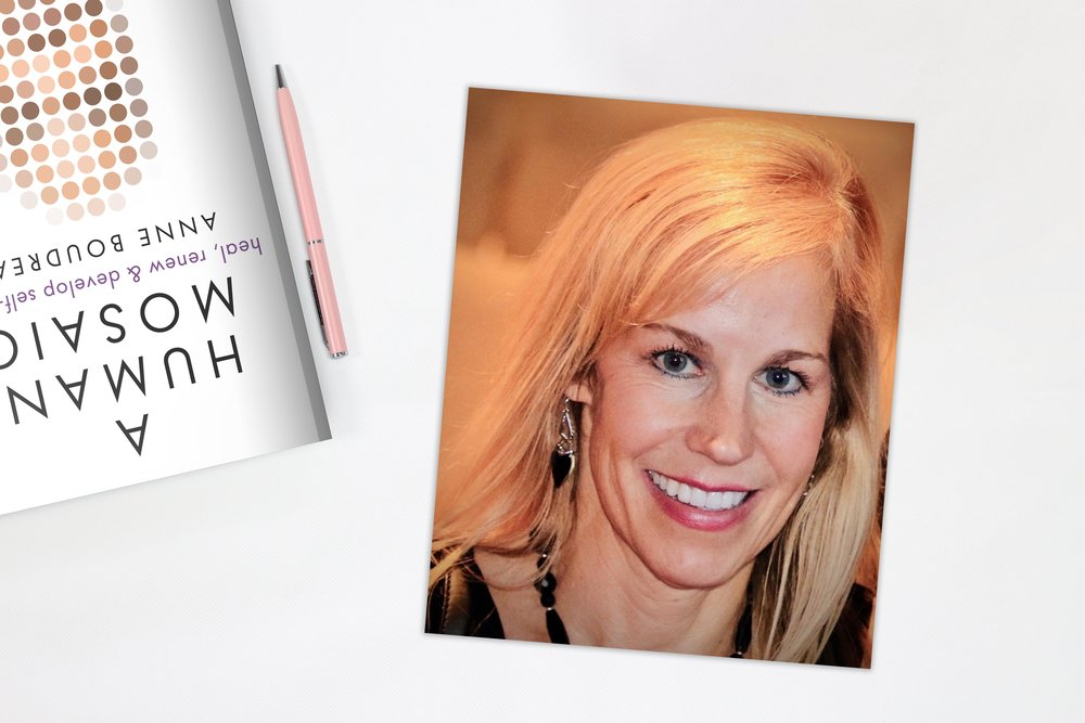 Anne Boudreau - Anne Boudreau is an inspirational author devoted to helping others develop healthy self-worth.She recently completed her first nonfiction book entitled, A Human Mosaic.