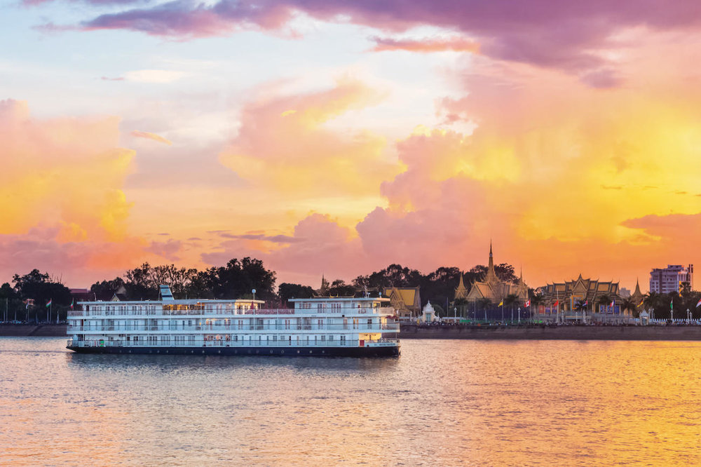 The East-Asia Highway - With Siem Reap in Cambodia at one end of the Mekong and Ho Chi Minh City at the other, a cruise on the lower stretches of this natural highway offers a unique platform from which to absorb the rich culture and appreciate the everyday importance of the great river. Travel in style aboard a luxury river cruiser like Uniworld's Mekong Navigator.