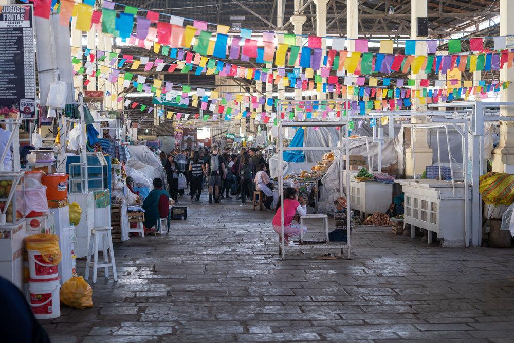 Checking out San Pedro Market.