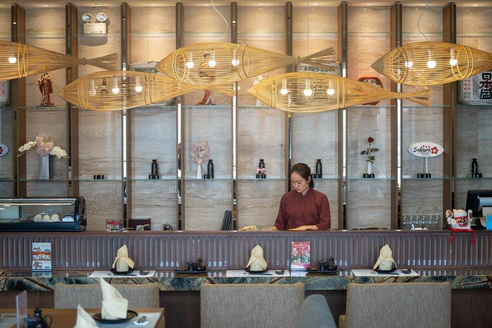 Sakura Japanese Restaurant at Wyndham Legend Halong Bay