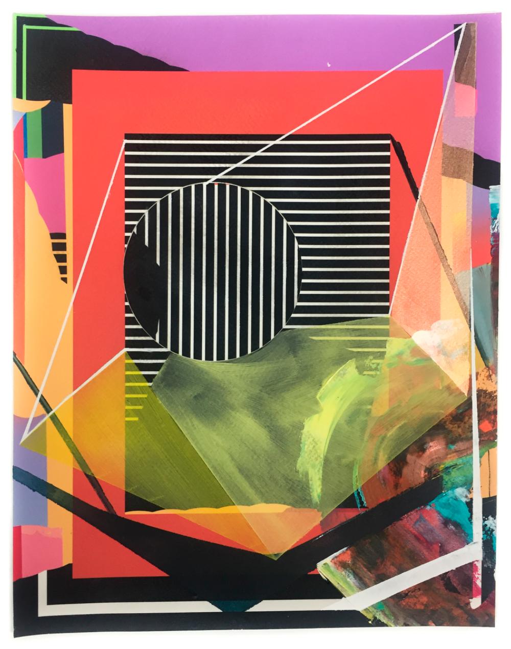 IRSKIY x JENNIFFER OMAITZ - Acrylic on Giclee Print2017