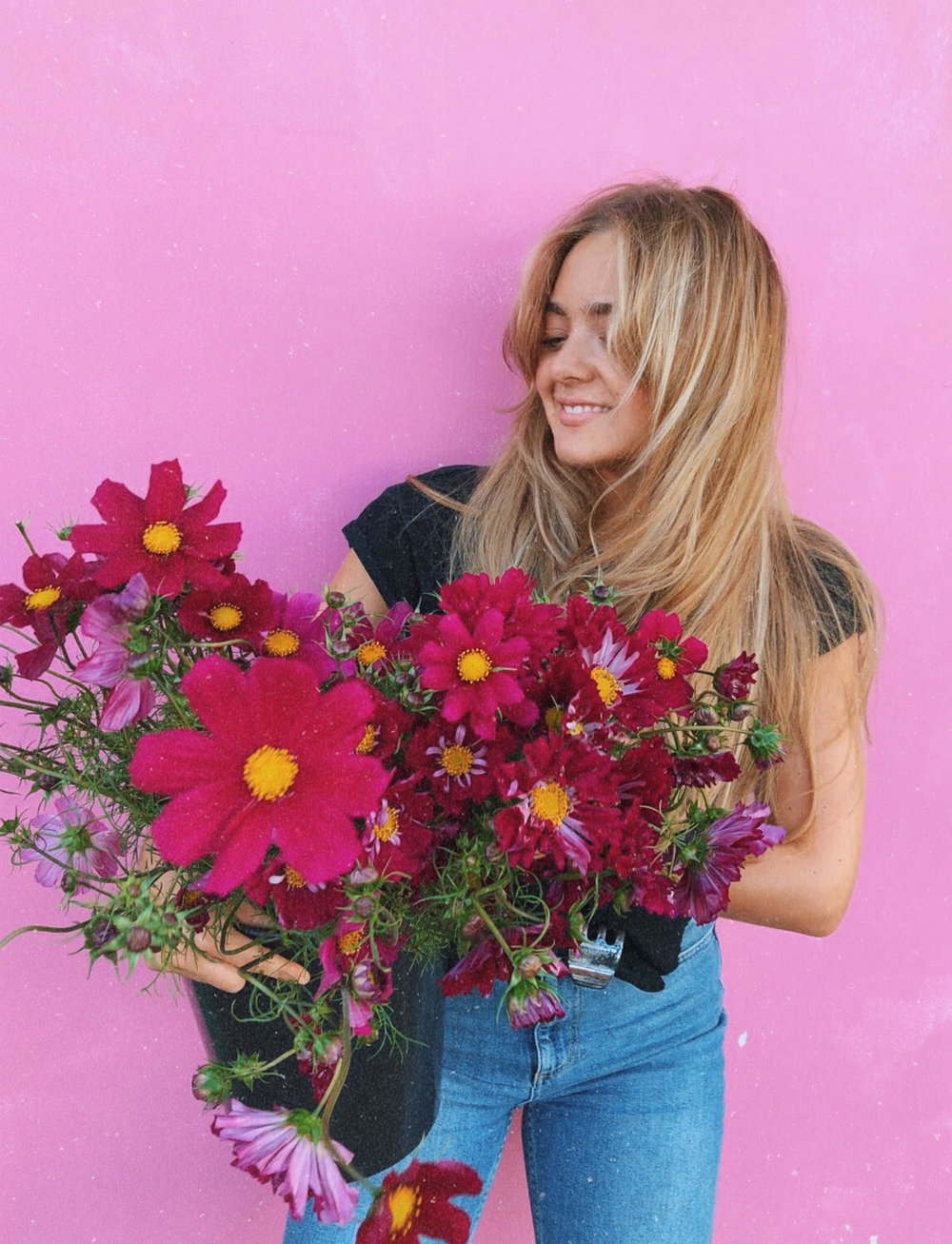 Behind The Blooms -
