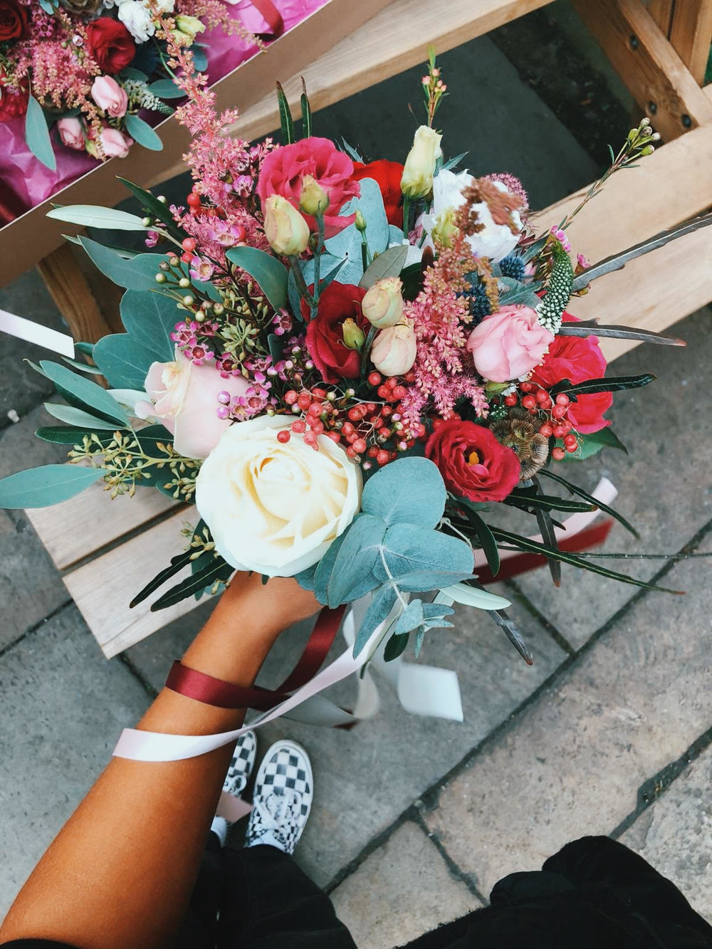 Q: what's next at mUD? What are you looking forward to? - A: 2019 wedding season! Bigger bespokes! And delivering to more areas, I'm from Barrhead and can't wait to be able to send bouquets to my friends.