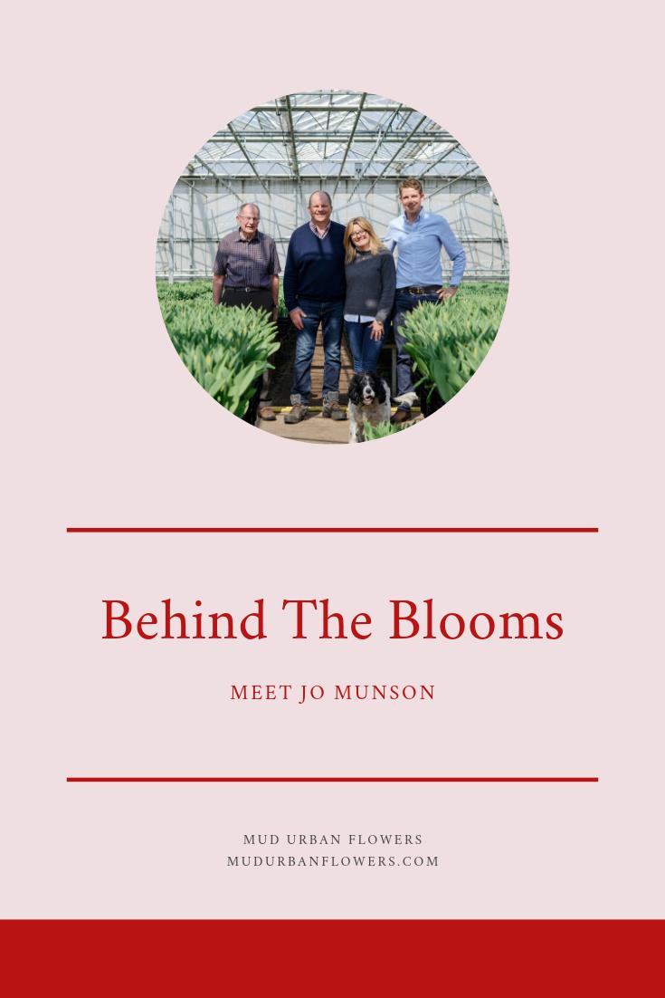 Behind The Blooms: Meet jo Munson