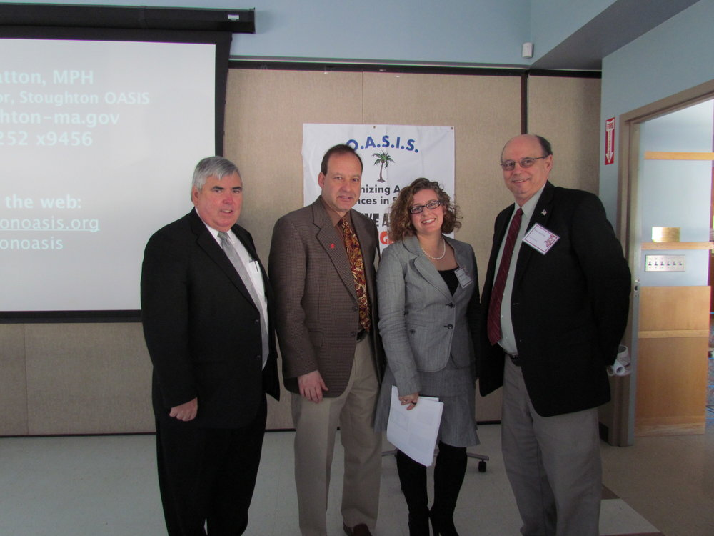 Several OASIS members at the Annual OASIS Legislative Breakfast.