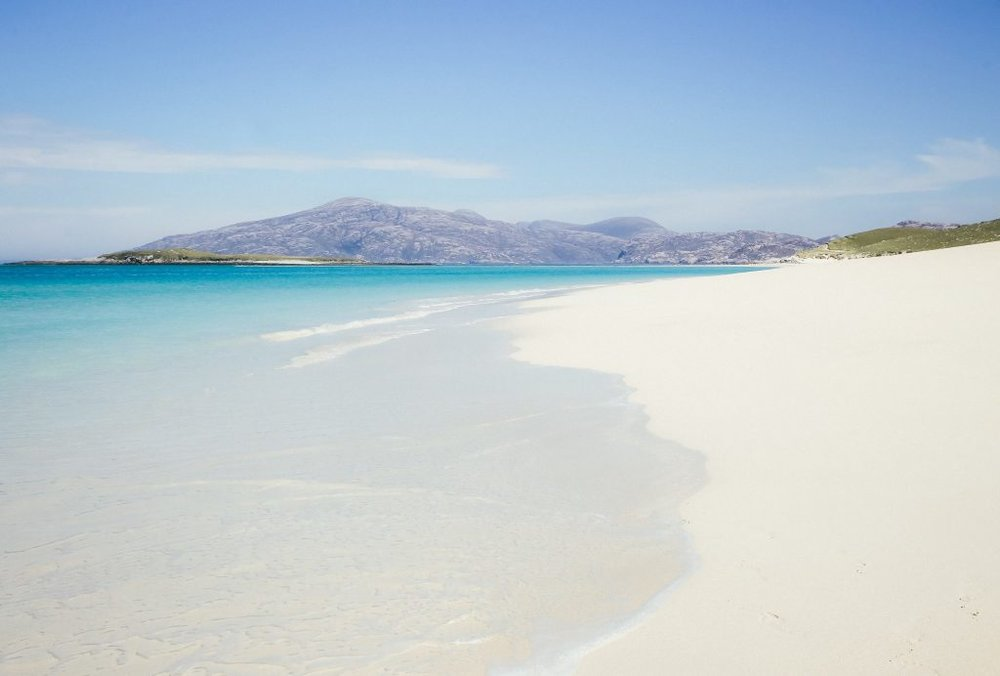 Tropical Paradise at Hushinish Beach, Harris ©  Kristy Ashton Photography