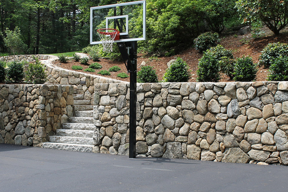 Quality retaining wall in Newton and Cambridge, MA