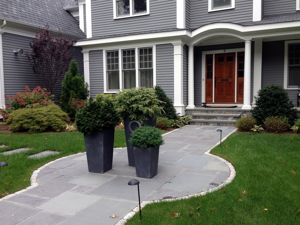Lincoln MA best landscape company for walkways