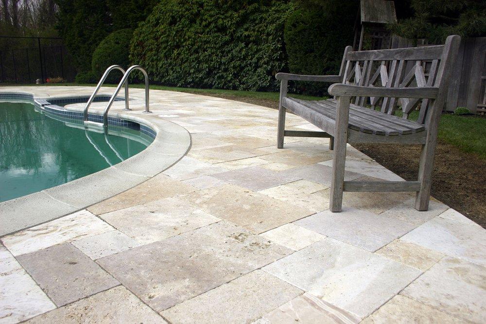 Cambridge, MA patio pavers for pool deck