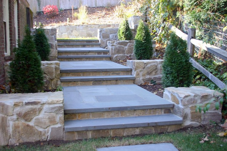 Landscapers near me with top walkway pavers in Lexington, MA