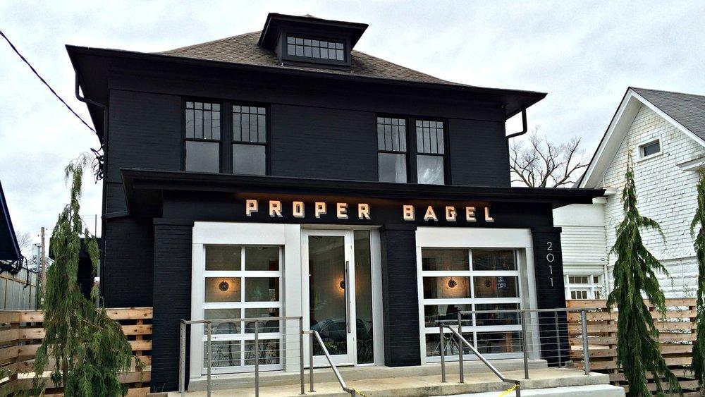 Proper Bagel Curb Appeal